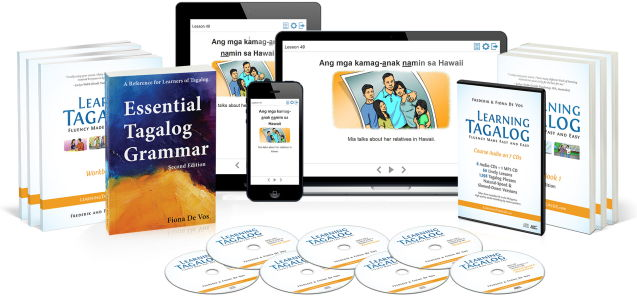Learning Tagalog complete course: Online, Ebook and Print Editions