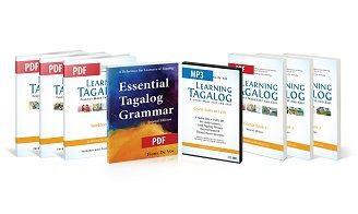 Learning Tagalog ebooks with MP3s